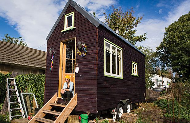 Lily Duvalls Tiny House Exterior Tiny Houses Inspiration