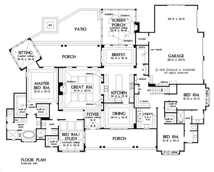 House Plan Of The Week The Meadow Creek 1401