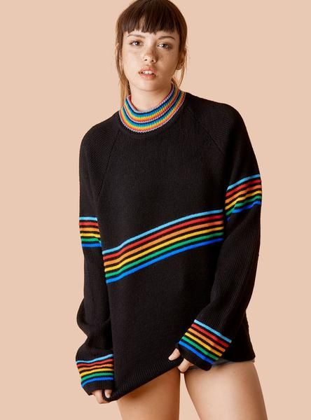 Prisma Sweater | Unif clothing, Clothes, Rainbow sweater