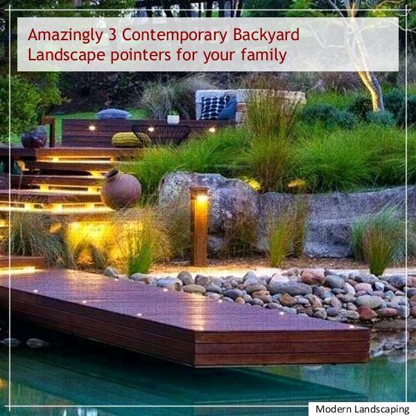 modern landscaping backyard ideas Easy Modern Landscaping Modern