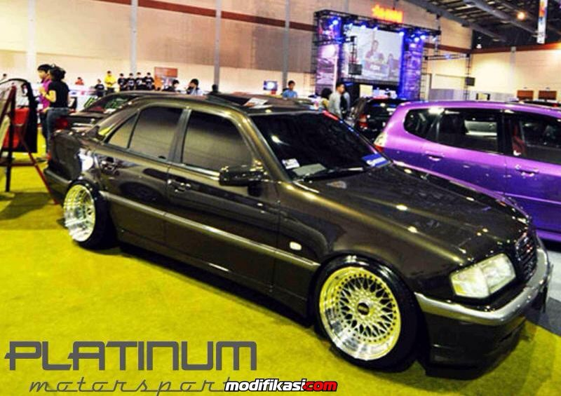 W202 On Bbs Rs With Images Mercedes Benz Classic Mercedes