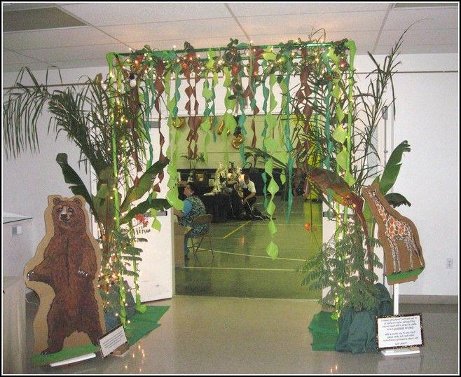 Homemade jungle decorations crazy homemade for Decoration jungle