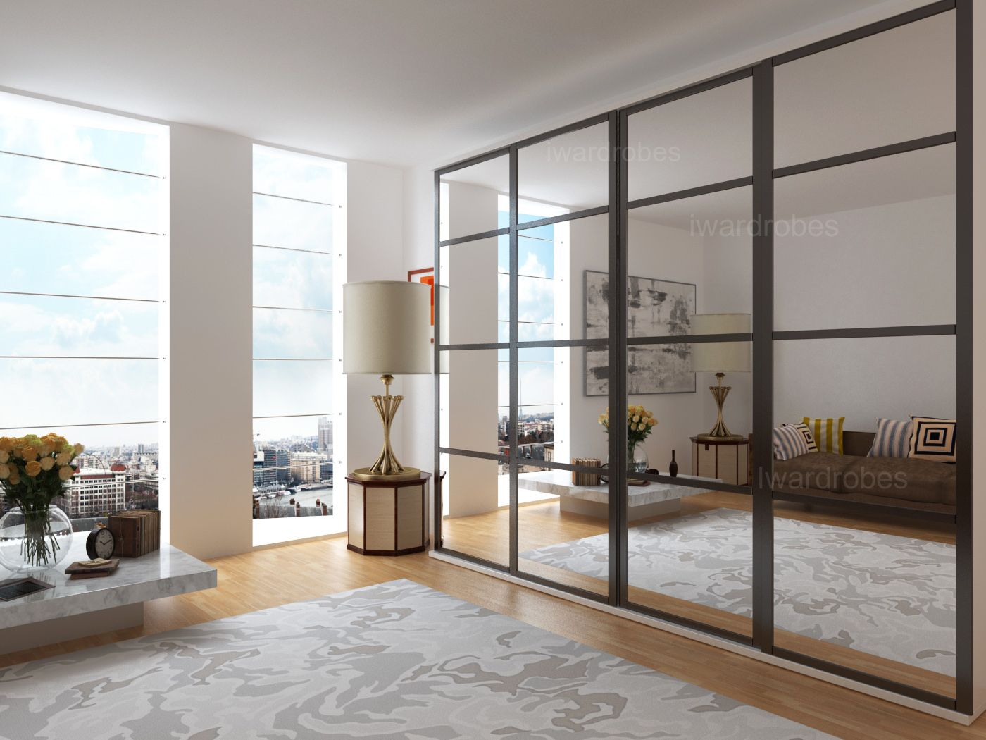 image result for mirrored wardrobes no 61 fitted bedroom rh pinterest com