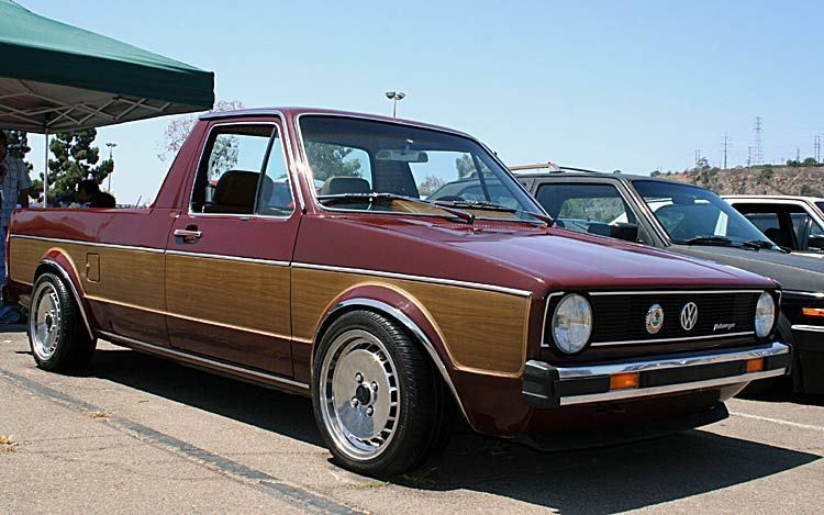 beautiful wood panel vw rabbit pickup the canadian expat dream rh pinterest com