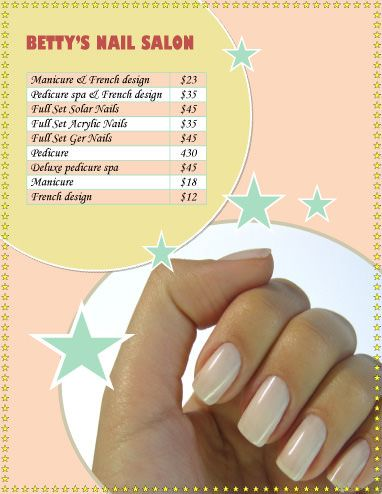 Pin On Nail Business Cards