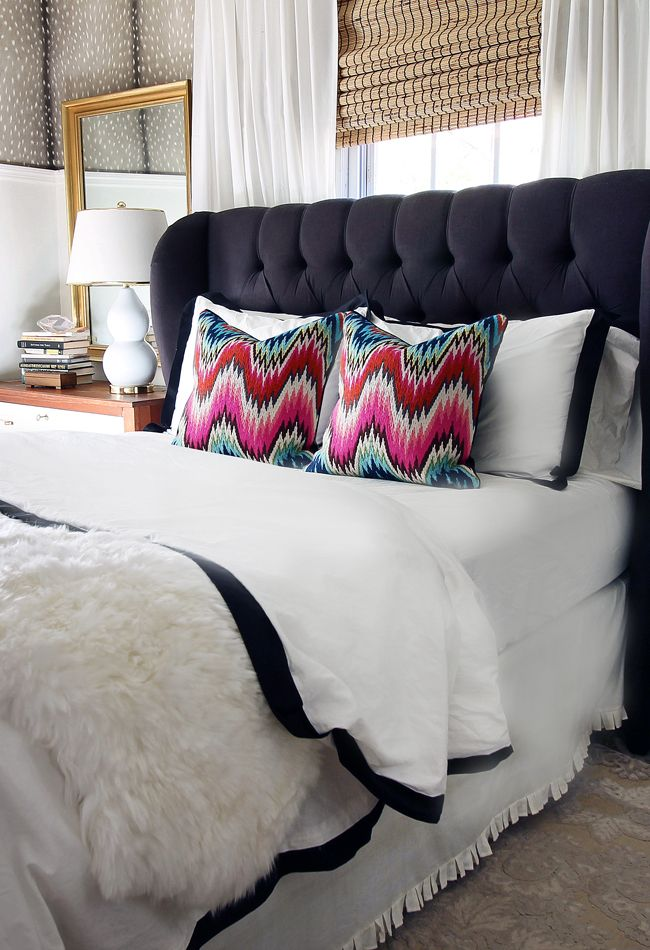 the HUNTED INTERIOR Bedroom Revamp The Bed