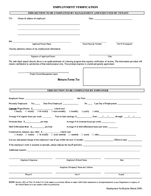 Verification Of Employment Form With Images Good Essay Sample