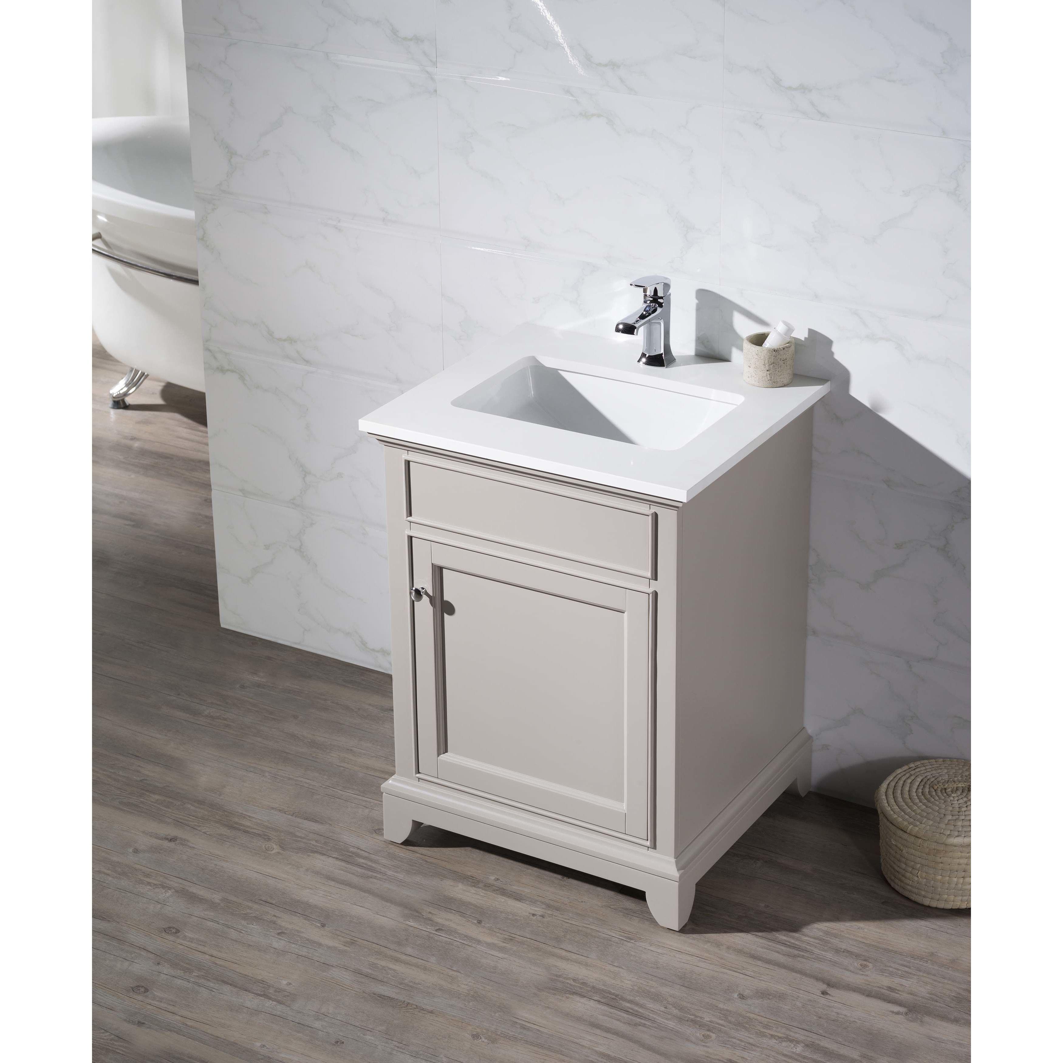 stufurhome arianny 25 single sink bathroom vanity set bathroom rh pinterest com