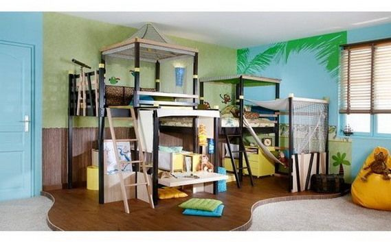 cool cabin bed ideas 4 home decor kid beds kids bedroom cool rh pinterest co uk
