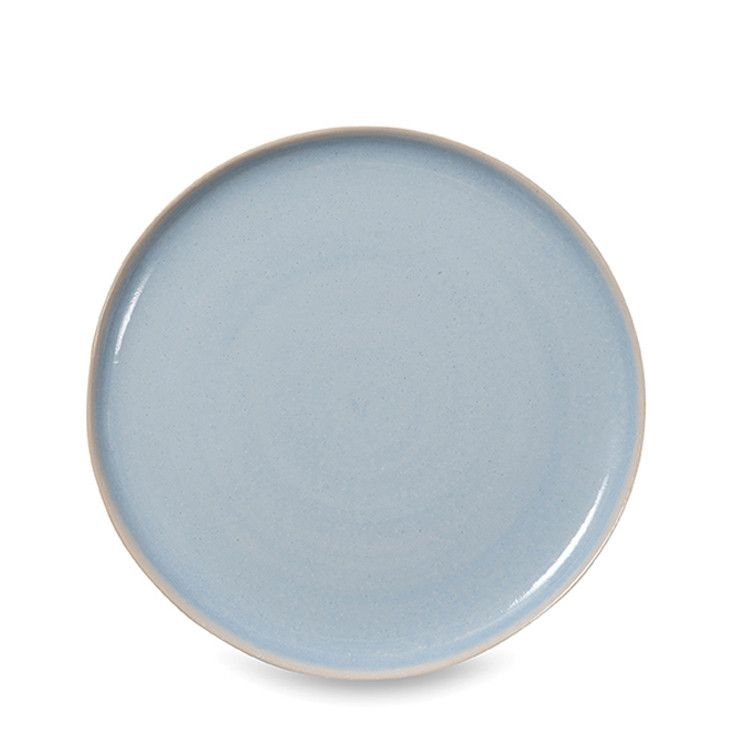Kitchens  sc 1 st  Pinterest & updating our dinnerware - Finch blue and natural dinner plate by ...