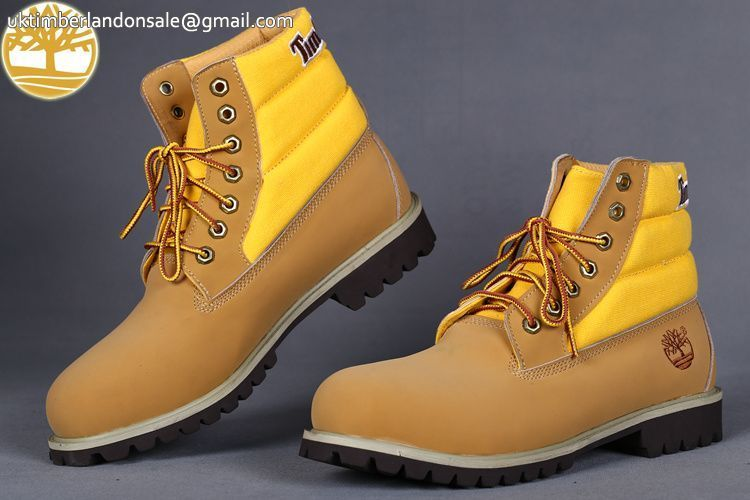 Custom Yellow Wheat 6 Inch Timberland lace Up Men Boots $95.99