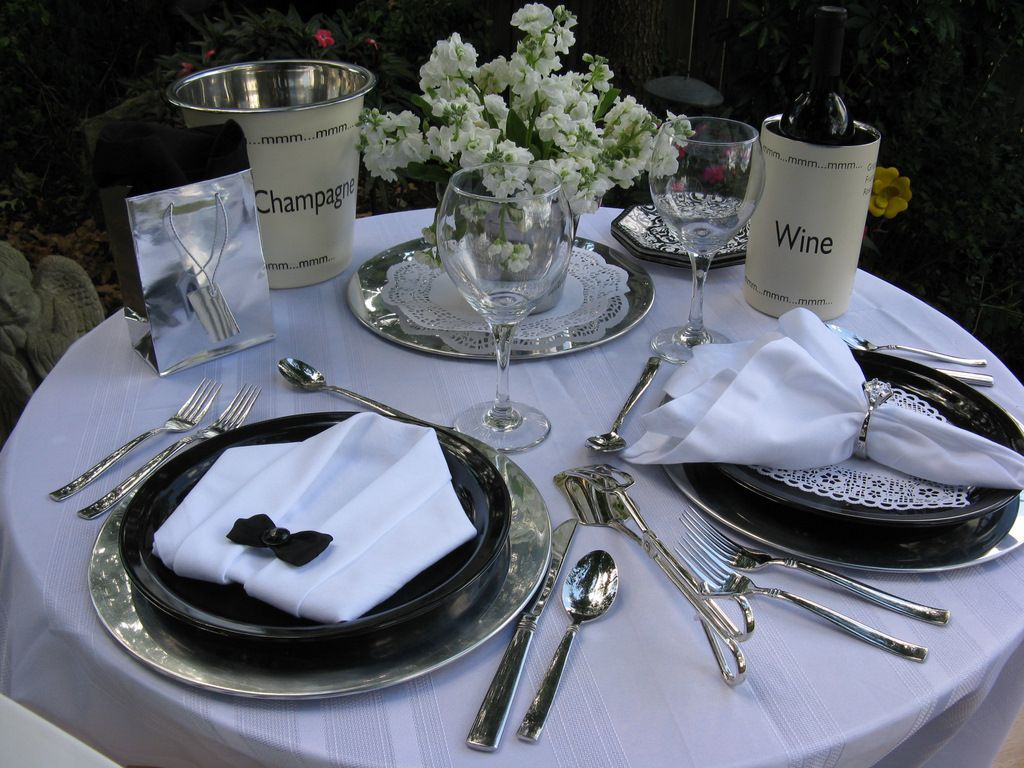 intiment table for two ideas picture gallery table settings rh pinterest com