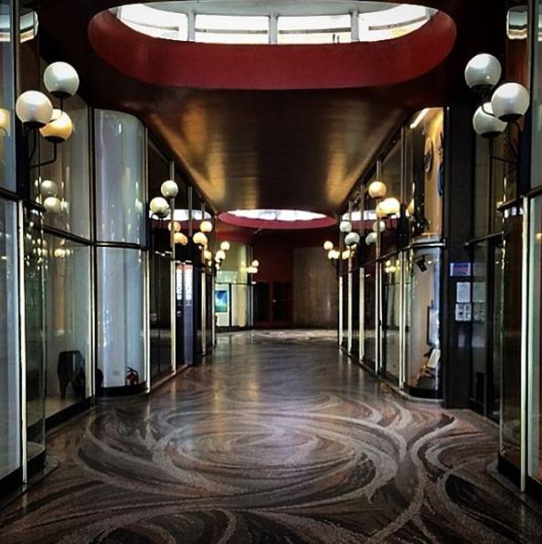 Galleria Strasburgo by Luigi Caccia Dominioni, Milano ...