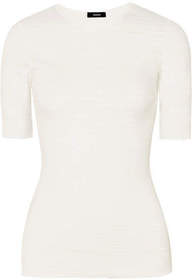 Discount Cheapest Discount Shopping Online Slub Cotton Jersey Tank - White Bassike Low Cost Cheap Online Fashionable Online Discount Browse NzEeKA