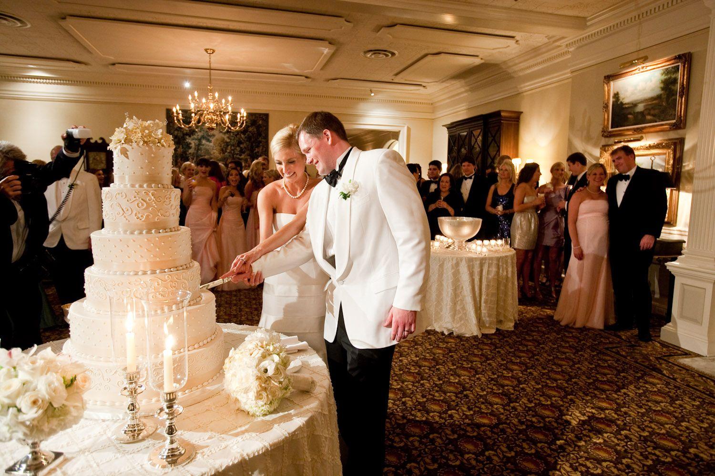 Traditional Layer White Wedding Cake