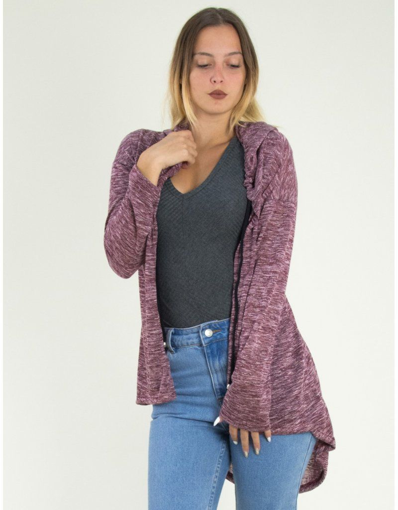 2cc23af82383 Γυναικεία ασσύμετρη ζακέτα So Sexy μπορντό με κουκούλα 64354F #torouxo  #online #eshop #εκπτώσεις #προσφορές #φθινοπωρινά #ζακέτες #γυναικεία #ρούχα
