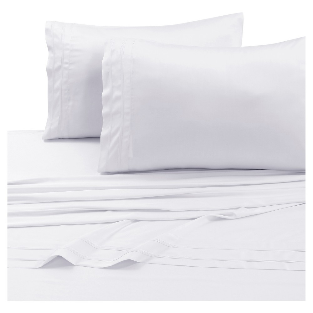 Rayon From Bamboo Deep Pocket Solid Sheet Set Twin Extra Long