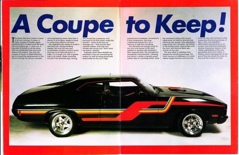 """Street Machine Magazine Giveaway Falcon XC """"Castrol FMX"""