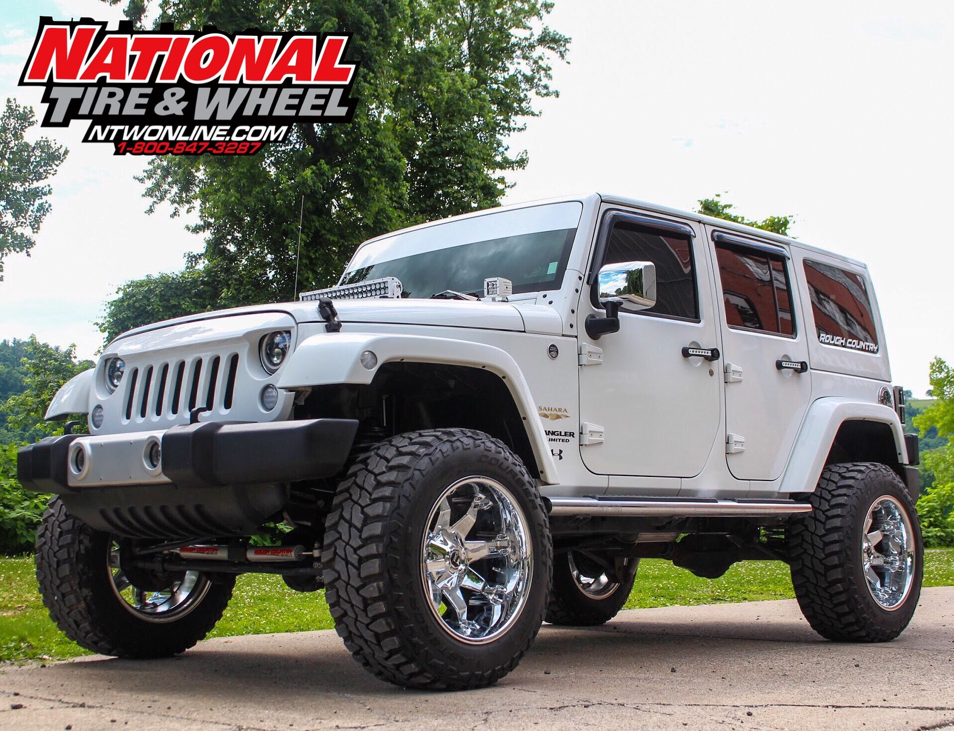 Ntw Install This Jeep Jk Received A Set Of 20x12 Fuel Off Road