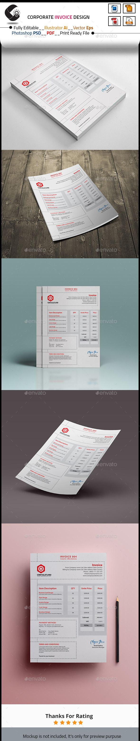 Invoice Template Business proposal and