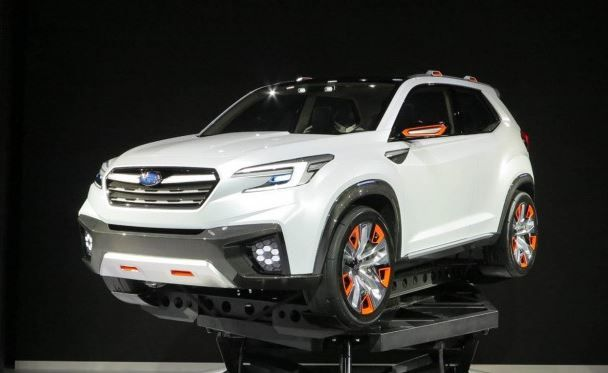 2018 Subaru Ascent Spied Release Date Price Interior Specs
