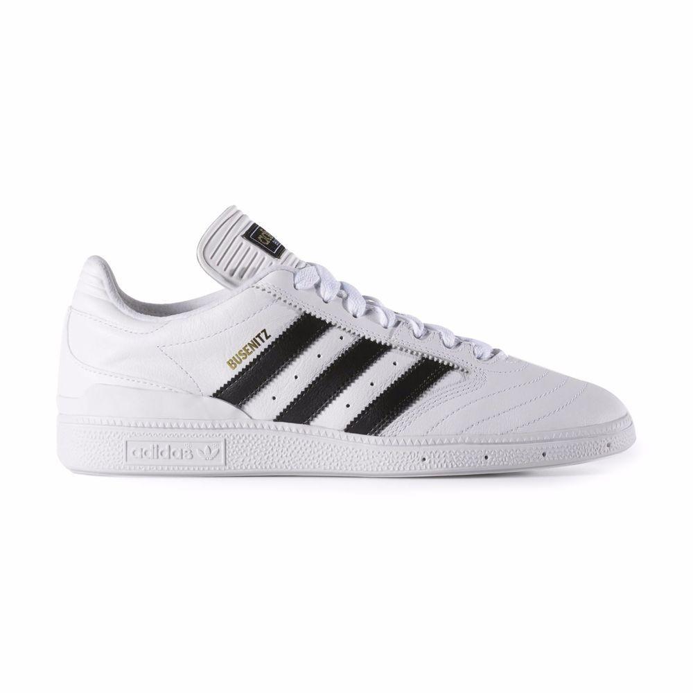Adidas - Busenitz | F37349 - New - Mens Skate Shoes | White / Black /