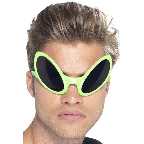 b0a2de28c23 Green Alien Eye Glasses