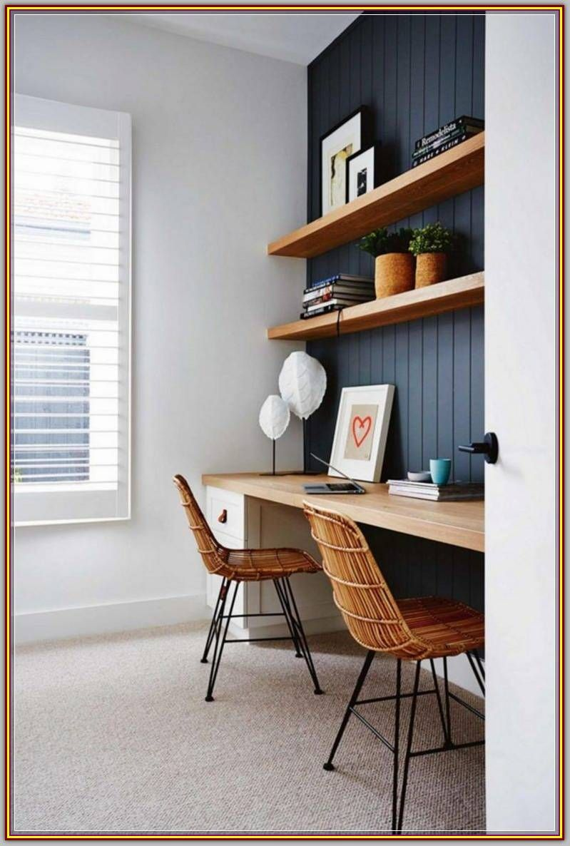 Furnish Your Home Office Decor With These Tips And Tricks Home Study Rooms Home Office Furniture Design Home Office Design
