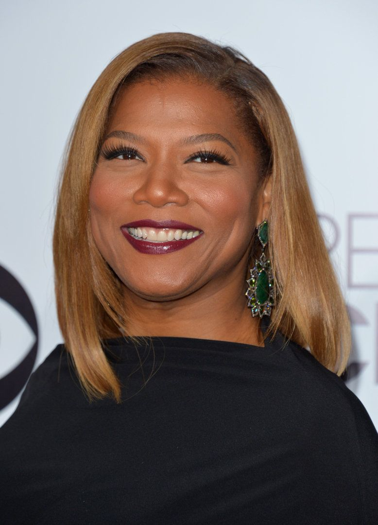 Queen Latifah At The 2014 People S Choice Awards With A Long Bob