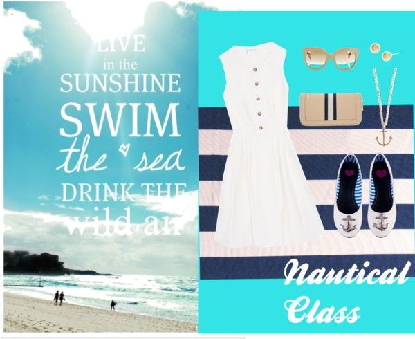 """""""The Classy Beach"""" by mickey-sugar on Polyvore"""