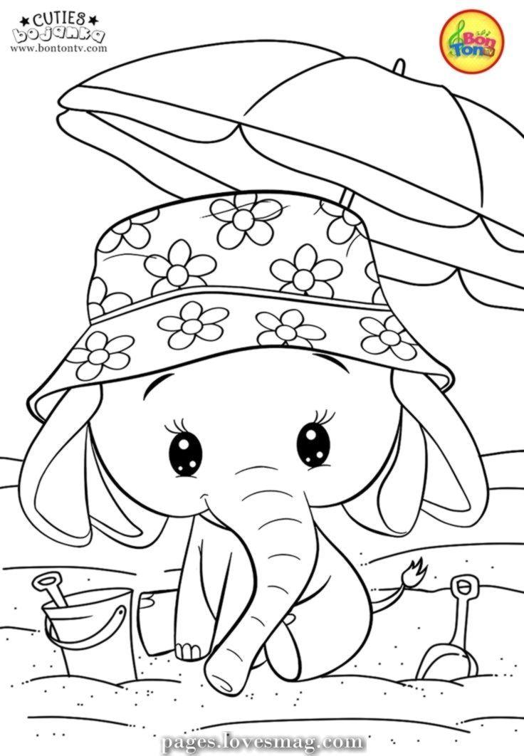 Beautiful Coloring Pages Of Cuties For Youths Free Preschool Printables Slatki Caricaturas Para Pintar Dibujos Tiernos Para Colorear Dibujos Colorear Ninos