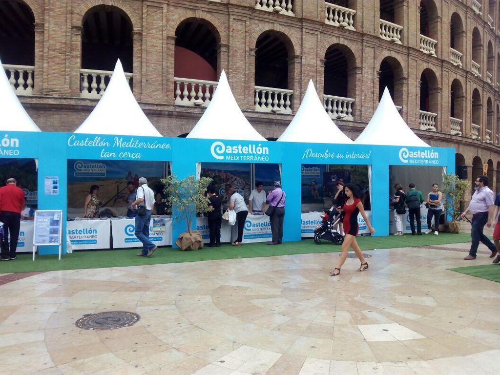 Hoy nos encontrarás en #Valencia en el #streetmarketing organizado por el Patronato Provincial de #Castellón