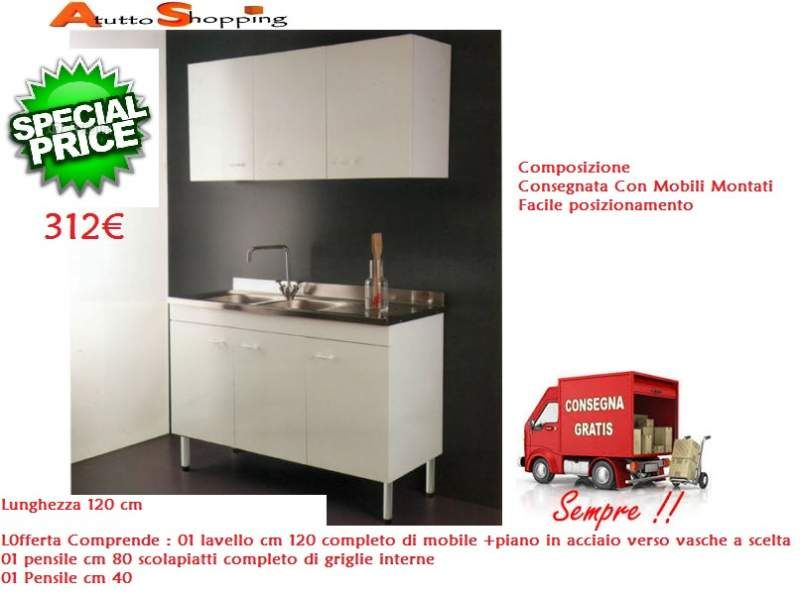 Mobile cucina  Mobili cucina in offerta e consegna