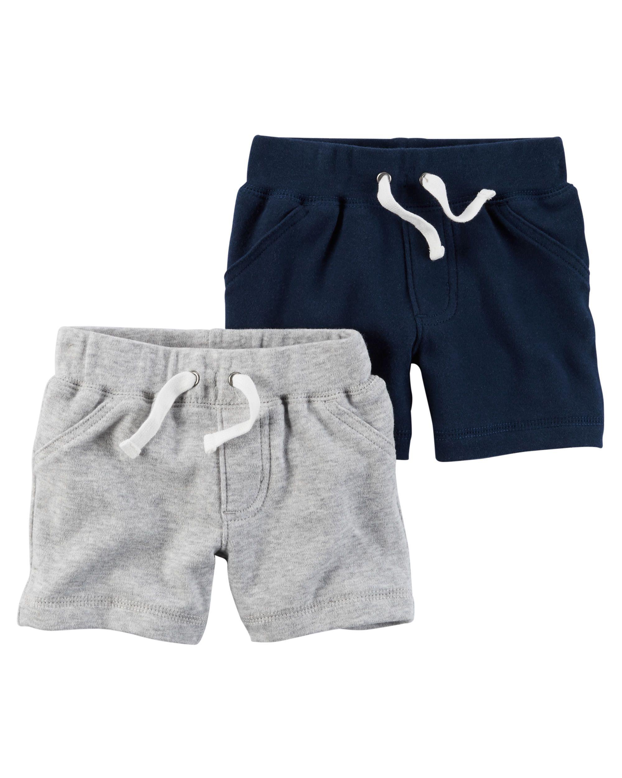 2 Pack Babysoft Shorts