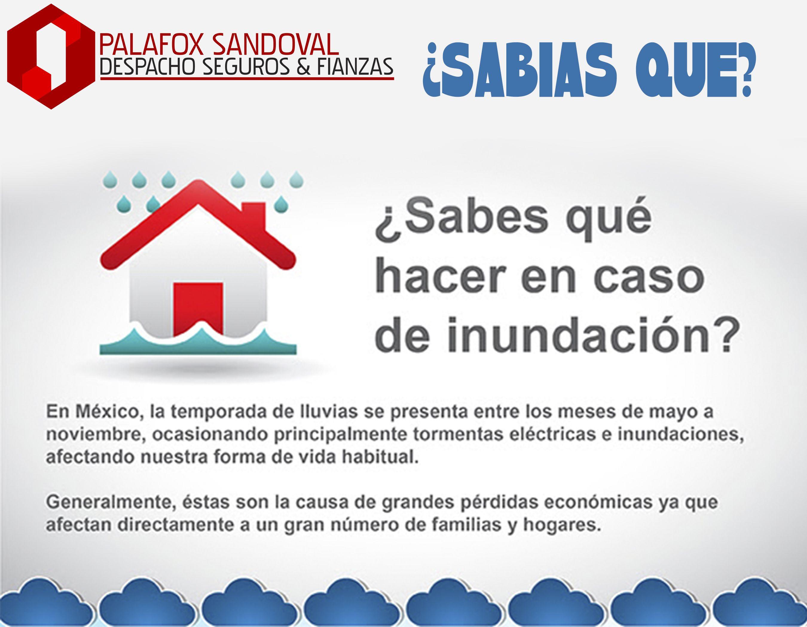 #SabiasQue #QueHacerEnCasoDe #Inundación