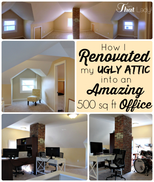 renovated our attic remodelingourhome remodeling our home in 2018 rh pinterest com