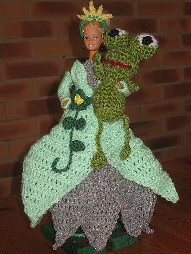 la-princesse-et-sa-grenouille-- tuto : http://tricotdamandine.over-blog.com/tag/princes%20et%20princesses%20disney/