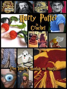 Accio Potter Patterns Free Crochet Patterns Inspired By Harry