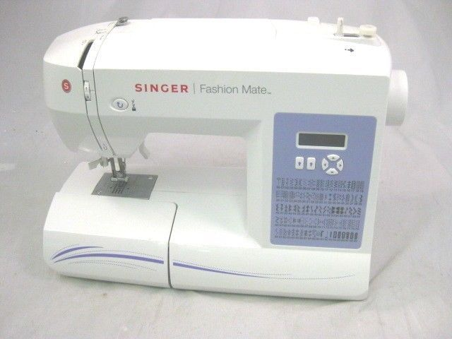 Singer 40 Fashion Mate Sewing Machine AS IS Clearance Closeout Custom Singer Fashion Mate Sewing Machine 5500