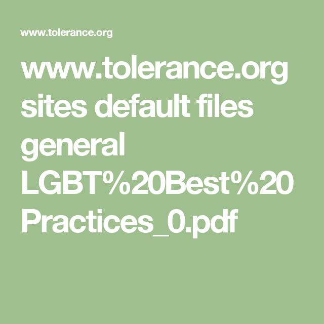 www tolerance org sites default files general LGBT%20Best