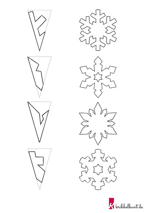 Schneeflocken Basteln Mit Kindern Aus Papier Mit Vorlagen Basteln Weihnachten Papier Fensterbilder Weihnachten Basteln Schneeflocken Basteln