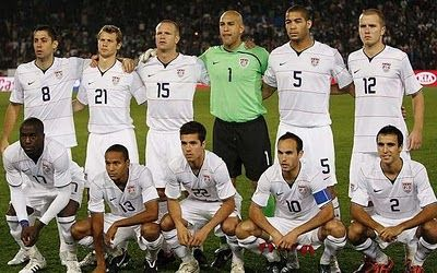 Soccer Players Wallpaper World Cup 2010 Usa Football Team Photos Usa Football Team Usa Soccer Team World Cup Teams