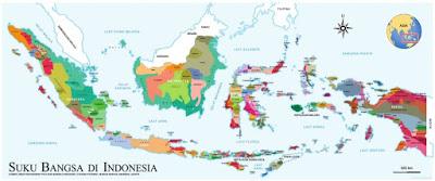 Peta Persebaran Suku Bangsa Di Indonesia Indonesia Peta Budaya