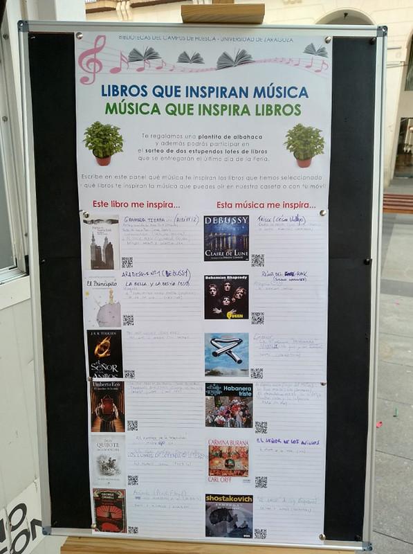 Participación De Las Bibliotecas Del Campus De Huesca Universidad De Zaragoza En La Feria Del Libro De Huesca 2019 Journal Bullet Journal