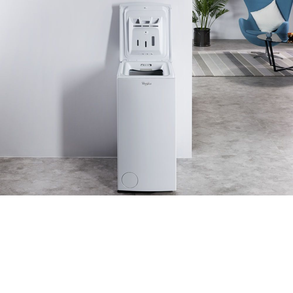 Whirlpool Apartment Size Washer And Dryer: The Whirlpool TDLR60210 Free-Standing Washing Machine Has