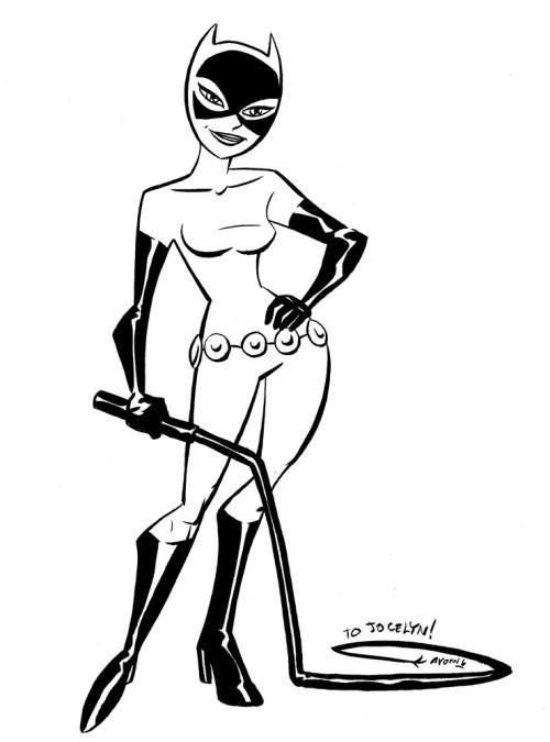 Btas Catwoman Michael Avon Oeming Cat Girl Catwoman Art