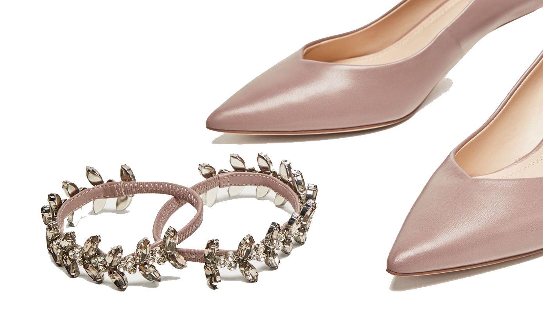 Los primeros zapatos de novia convertibles.