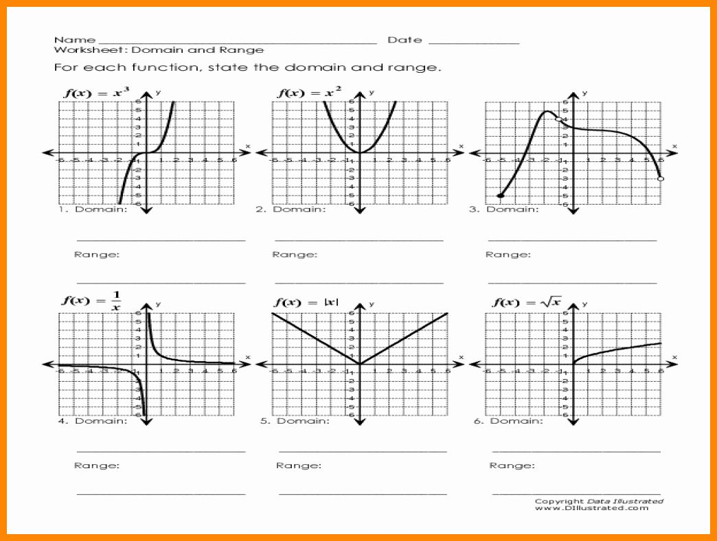 Domain And Range From Graphs Worksheet Luxury Domain And Range From Graphs Worksheet The Best Worksheets In 2020 Worksheets Practices Worksheets Lesson Planet