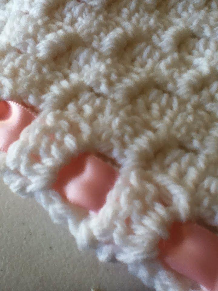 Hand-Crocheted Corner-To-Corner Baby Afghan | Häkelanleitung und Häkeln