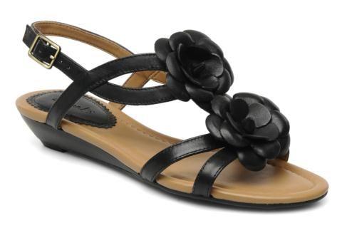Clarks santa gift noir - Talon : 4 cm